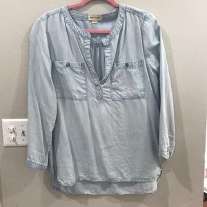 Cloth & Stone Chambray Shirt